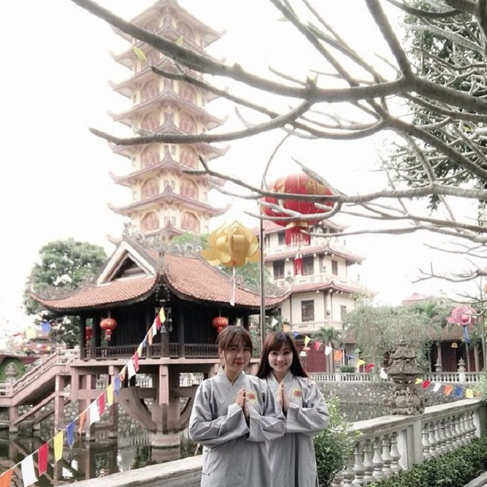 join the retreat - interesting activities at Pho Chieu Pagoda