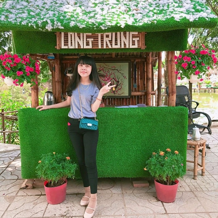 virtual life - attractive activities at Long Trung eco-tourism area in Tay Ninh