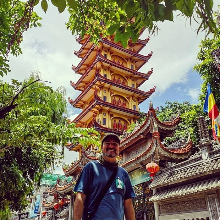 Traditional ancient architecture - the impressive feature of Pho Chieu Pagoda