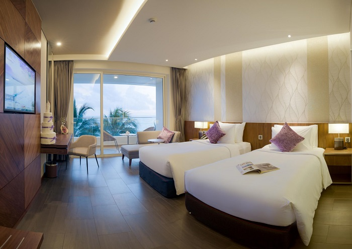 Experience of booking Phu Quoc hotel - a beautiful hotel in Duong Dong town