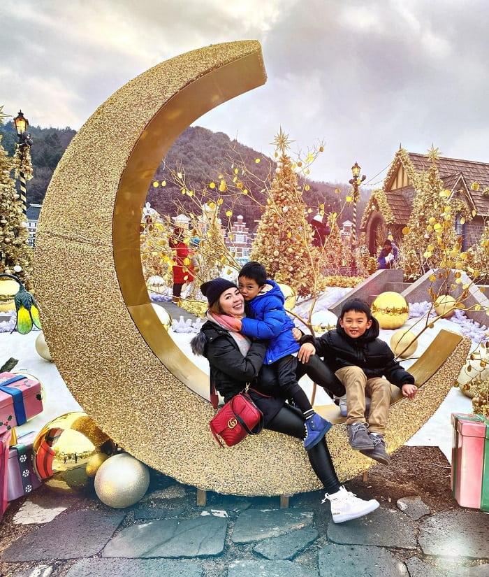 kinh nghiệm du lịch Hàn Quốc tháng 2 - vui chơi Everland