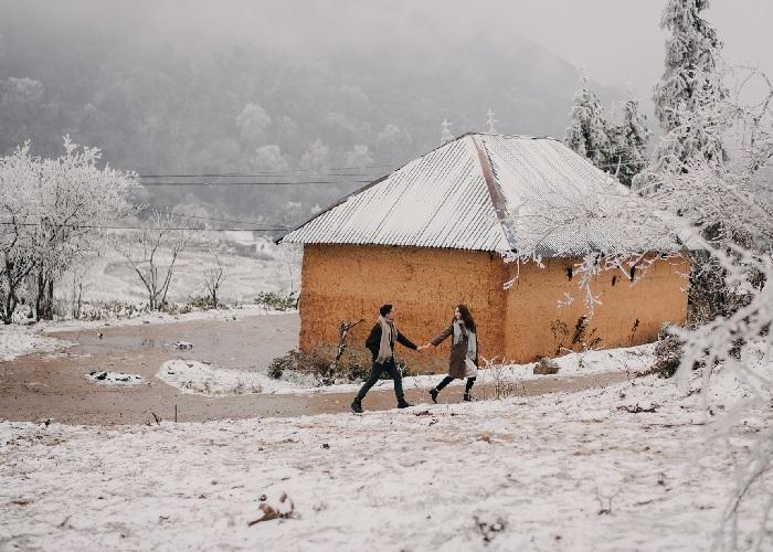 Kinh nghiệm săn tuyết ở Sapa vào mùa tuyệt đẹp