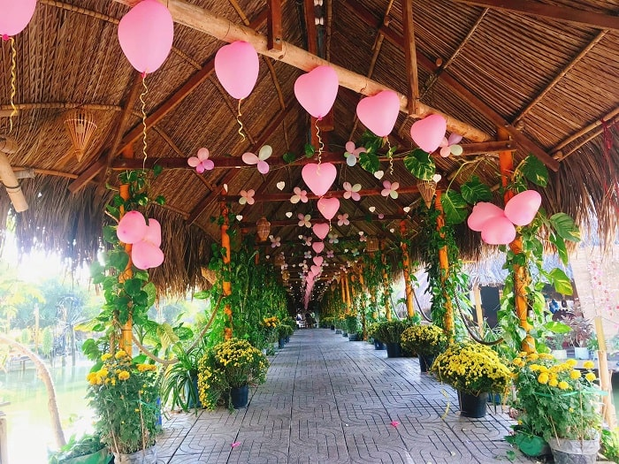 Poetic entrance - the attraction of Long Trung eco-tourism in Tay Ninh