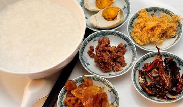 Dalat night food - night porridge