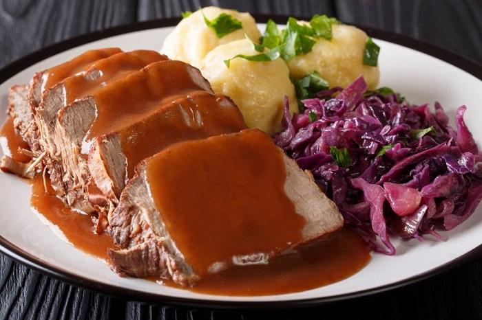 Sauerbraten - German street food