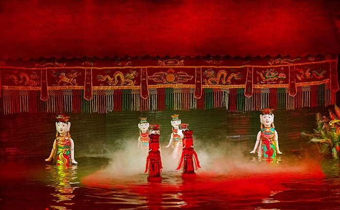 Address to enjoy the water puppetry art in Hanoi
