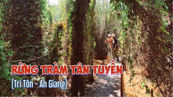 Khám phá rừng tràm Tân Tuyến An Giang - hệ thống lán trại quân đội