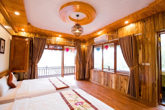 Rooms at Dance Cave, Ecolodge Ninh Binh