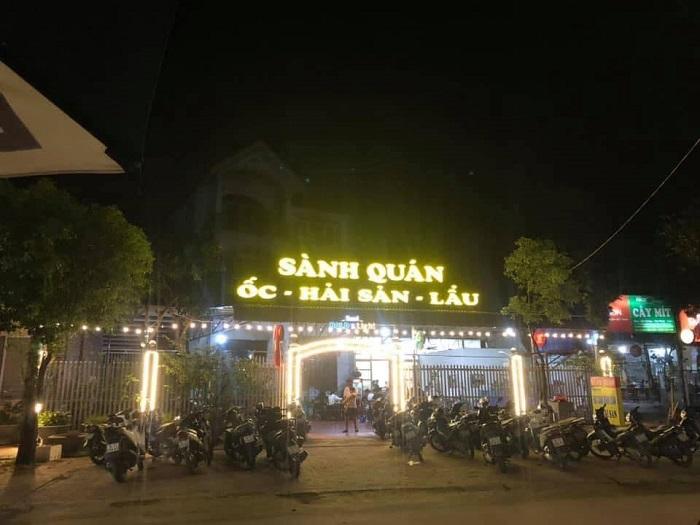 Delicious food in Uong Bi - Sanh Quan Restaurant