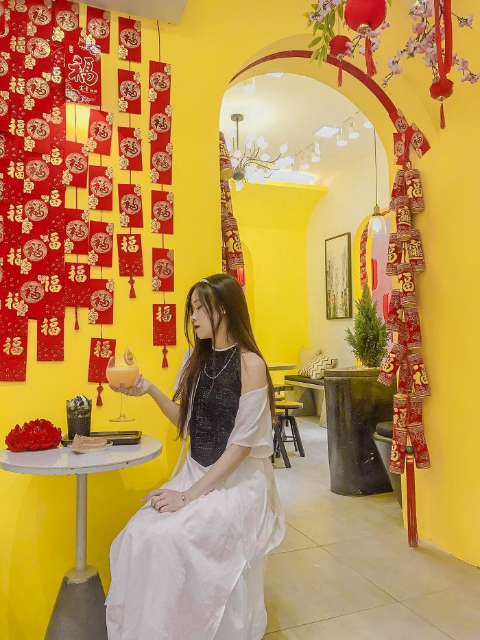 quán cafe trang trí Tết ở Hà Nội-cafe-hasu