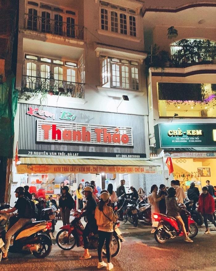 Dalat butter cream shop - Thanh Thao shop