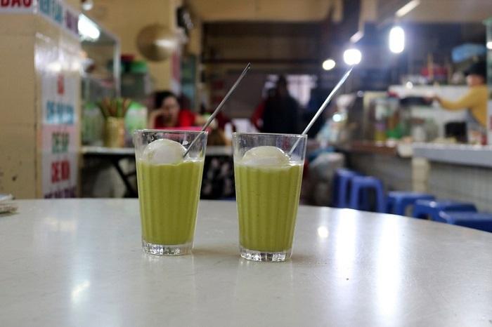 Dalat butter cream shop - Ms. Huyen shop, Dalat market