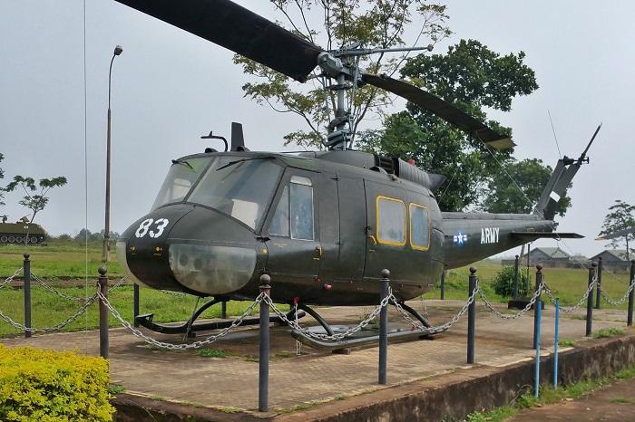 Ta Con Quang Tri Airport - historic site