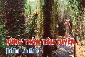 Khám phá rừng tràm Tân Tuyến mới toanh ở An Giang