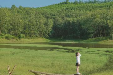 Hẹn nhau về miền xanh mát ở hồ Sơn Thọ Huế