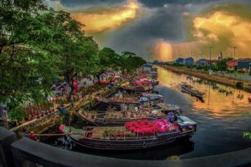 Đón xuân rộn ràng với những chợ hoa Tết ở Sài Gòn đông vui nhộn nhịp