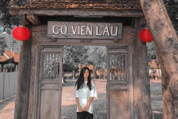 Đắm chìm vào vẻ đẹp cổ xưa ở Cố Viên Lầu Ninh Bình
