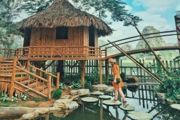 Đến Hang Múa Ecolodge nghỉ dưỡng yên bình bên 'Vạn Lý Trường Thành của Việt Nam'