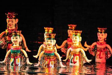 Nghệ thuật múa rối nước - di sản văn hoá độc đáo của Việt Nam