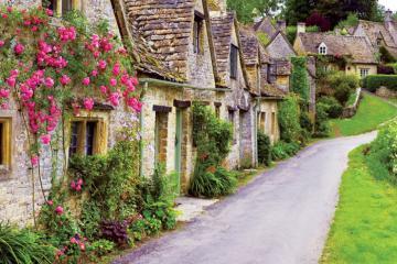 Những ngôi làng đẹp nhất nước Anh tựa như bước ra từ truyện cổ tích