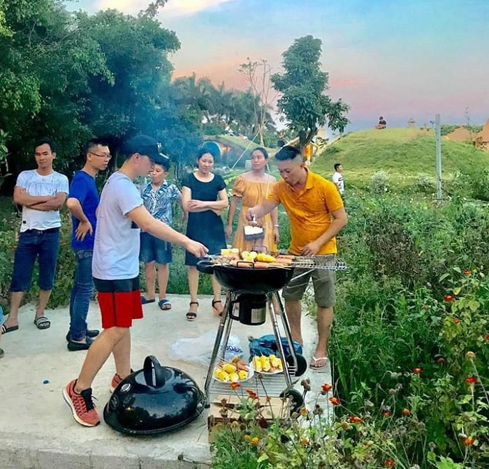 barbecue - activities worth a try at Truong Thanh Farm Hai Phong