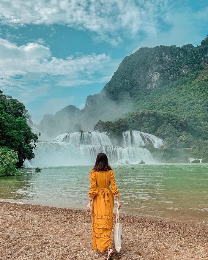 tour Đông Tây Bắc Tết Âm lịch 2021 - thác Bản Giốc Cao Bằng