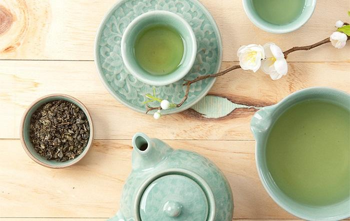 trà truyền thống Hàn Quốc - nokcha trà xanh