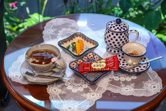 trà truyền thống Hàn Quốc - sollipcha lá thông