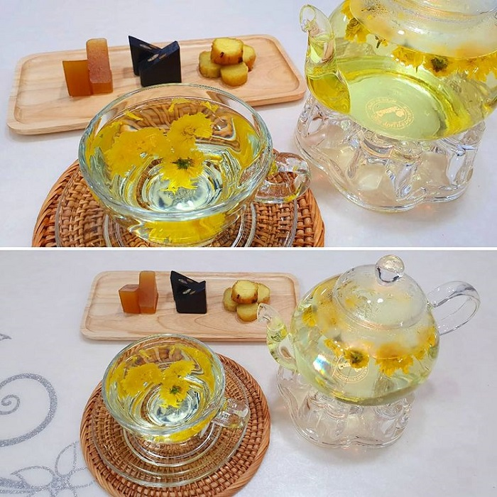 trà truyền thống Hàn Quốc - trà hoa cúc