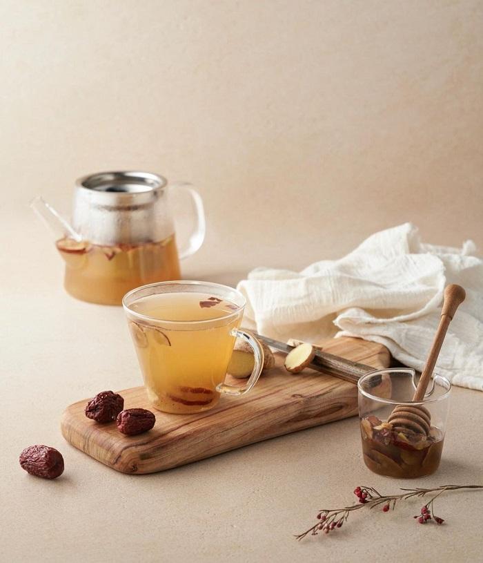trà truyền thống Hàn Quốc - trà táo tàu bổ dưỡng