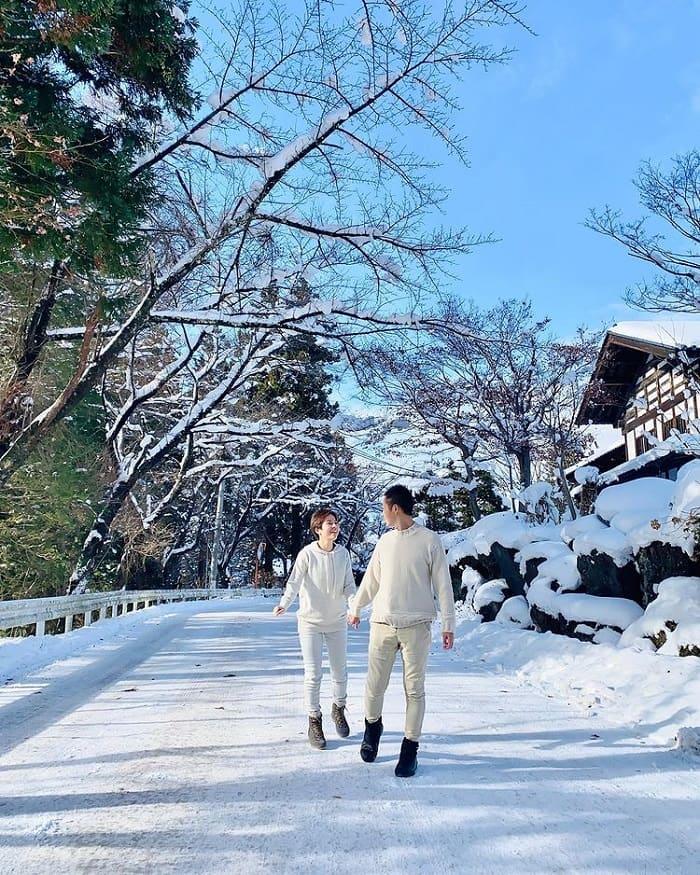 trải nghiệm mùa đông Nhật Bản - tham quan công viên Jigokudani