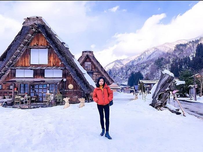 trải nghiệm mùa đông Nhật Bản - tham quan làng Shirakawago