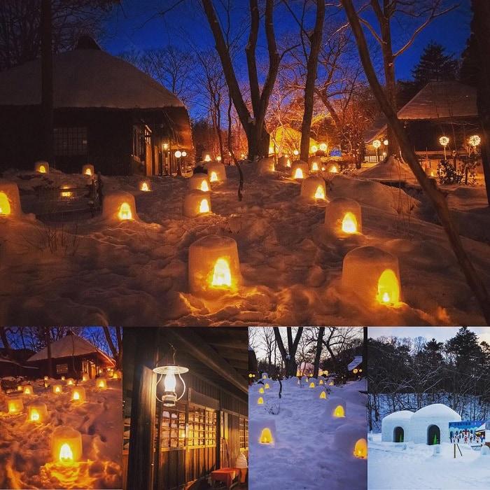 trải nghiệm mùa đông Nhật Bản - tham gia lễ hội ánh sáng Kamakura