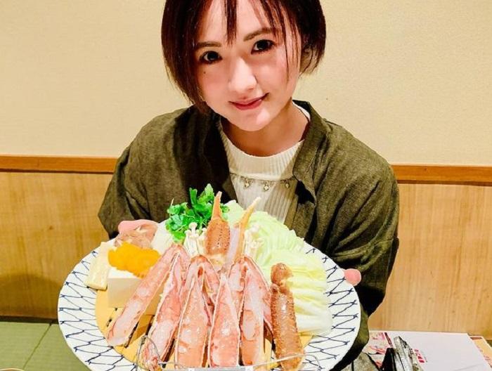 trải nghiệm mùa đông Nhật Bản - ăn cua mùa lạnh