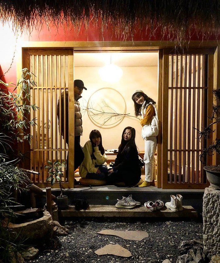 trải nghiệm mùa đông Nhật Bản - nghỉ Ryokan