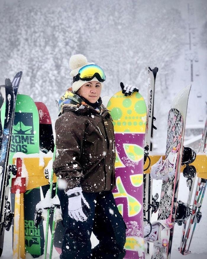 trải nghiệm mùa đông Nhật Bản - trượt tuyết