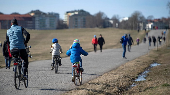 Đạp xe dạo quanh thành phố - Trải nghiệm ở thành phố Malmo
