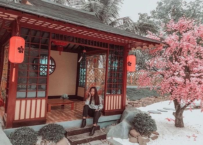 Japanese space - super beautiful virtual living corner at Hai Phong Truong Thanh Farm