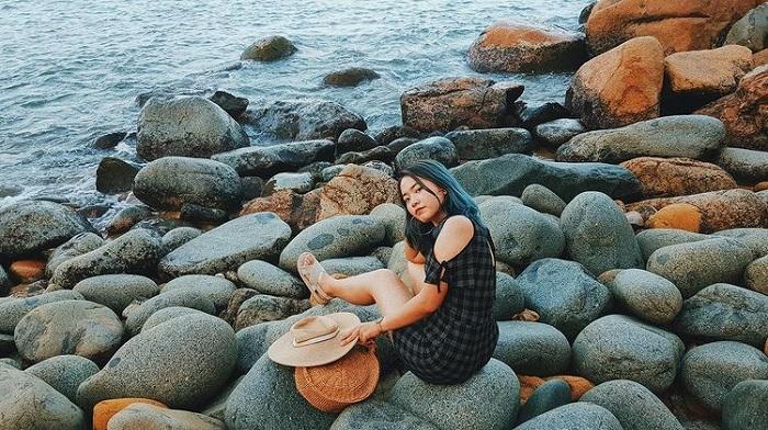 Enchanting beauty in Quy Nhon Da Egg beach