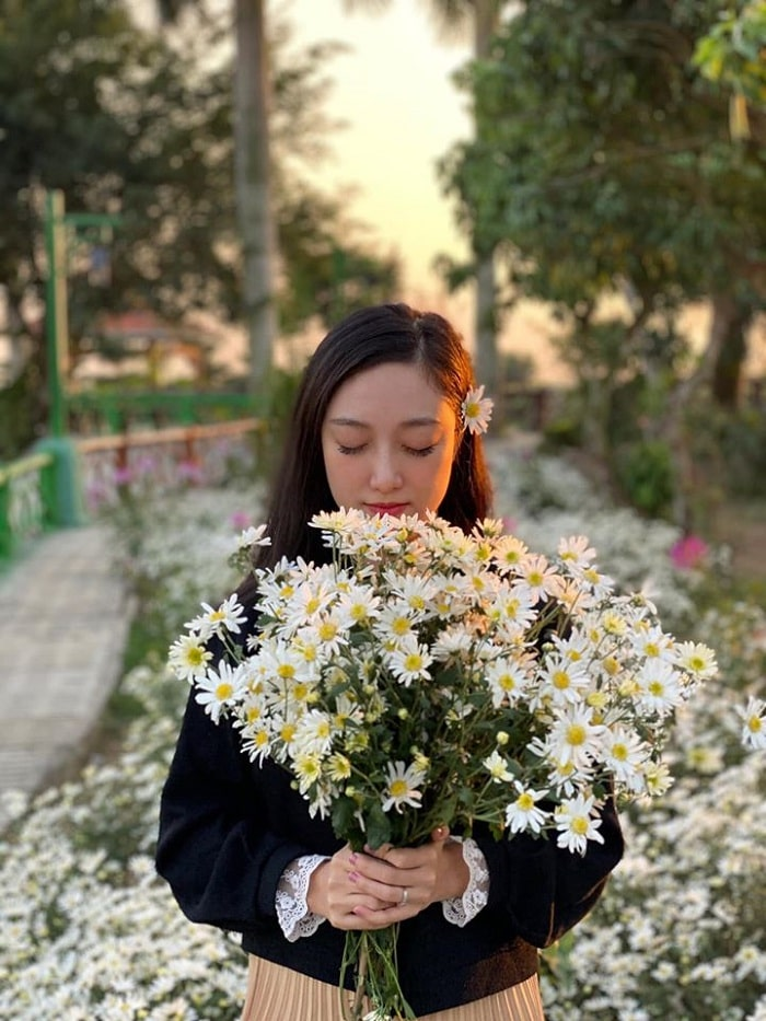 flower garden - the highlight of Hai Phong Truong Thanh Farm