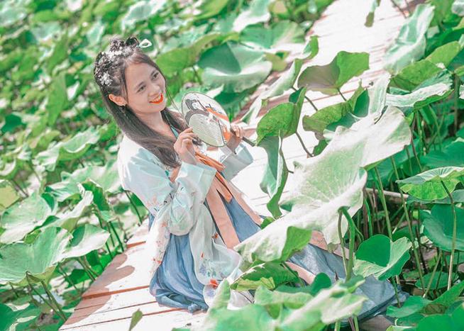 Sống ảo trên từng góc nhỏ tại công viên Bách Nhật Hoa Viên Tiền Giang