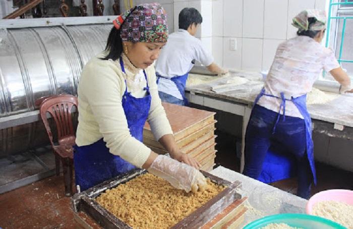 bánh khảo Tràng Định