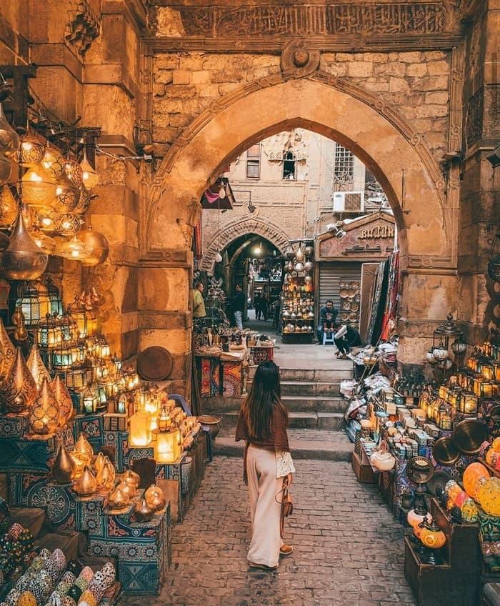 Khám phá chợ Khan El Khalili Ai Cập