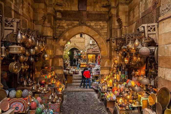 Bạn nên đi đâu khi muốn mua sắm ở Cairo Ai Cập?