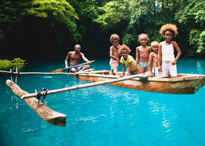 Cuộc sống tại đảo quốc hạnh phúc nhất thế giới Vanuatu