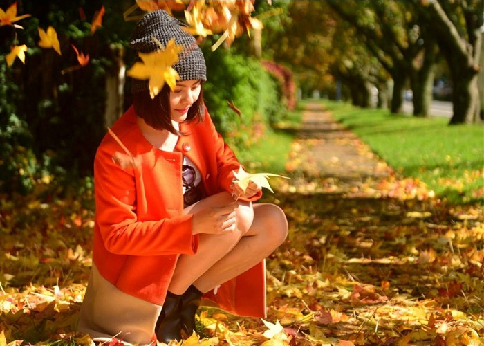 Autumn tourism in Australia is passionate about romantic lyrical beauty