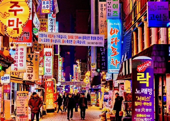 Khám phá khu phố Itaewon Seoul trong Itaewon Class