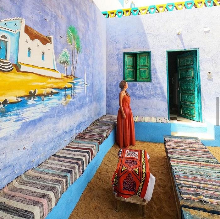 Ghé thăm làng cổ Nubian Ai Cập