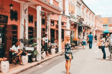 Phố cổ Old Town Phuket - điểm đến du lịch yêu thích tại Thái Lan