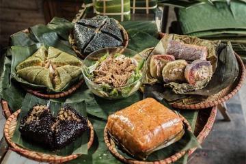 Độc đáo món bánh chưng của người dân tộc vùng cao Lạng Sơn